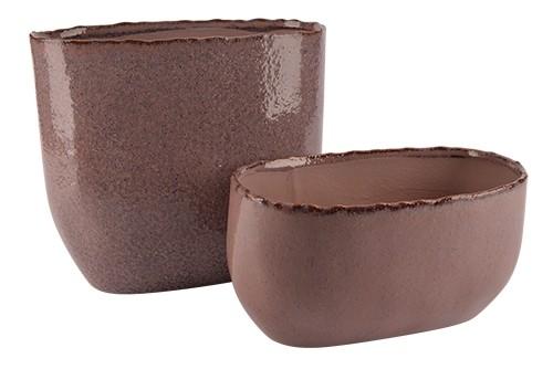 Jardiniere Hannover Keramik 26x14xH13,5cm