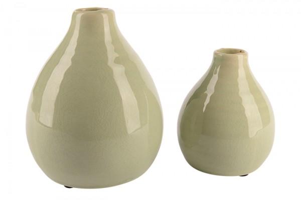 Dekoväschen Mila Keramik - D10,5xH13cm